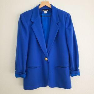 Vintage Savannah Royal Blue Wool Blazer